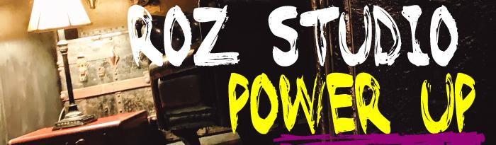 ROZスタジオがパワーアップ!
